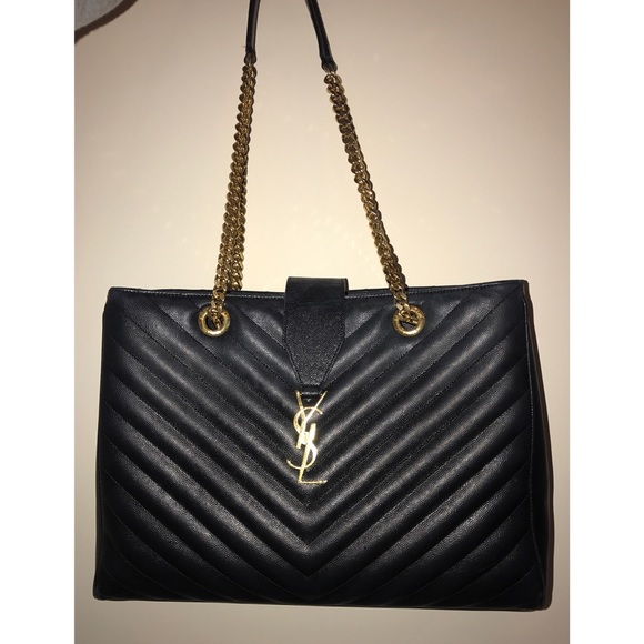 1172e39501f Saint Laurent Bags | Monogram Shoulder Bag | Poshmark
